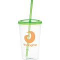 Glacier 20oz Tumbler with Straw
